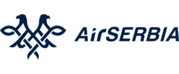 Air Serbia logo partner