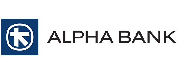 Alpha Bank logo partner