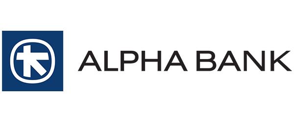 Alpha Bank logo partner