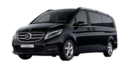 mercedes V class vito minivan 2017 limo service serbia belgrade