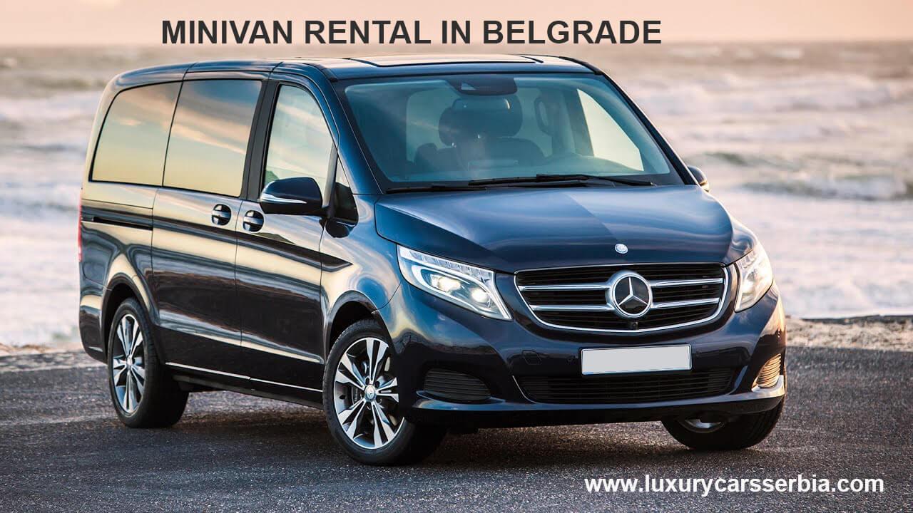 minivan rental in belgrade
